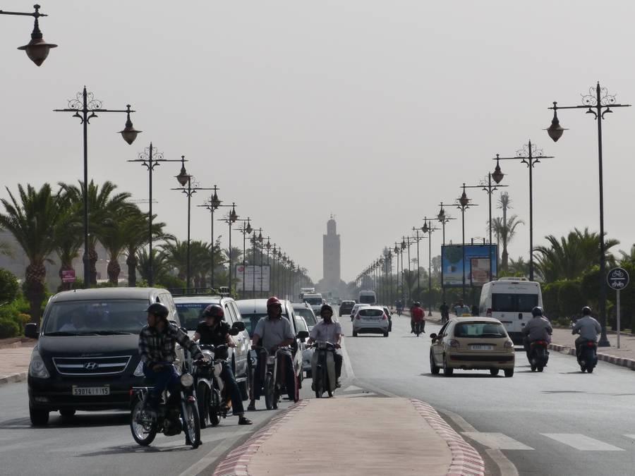 Erkunden Sie Marrakesch 1 Tag lang von Agadir