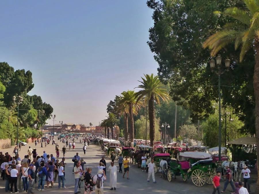 Marrakech visite de ville  en une journée au départ d'agadir